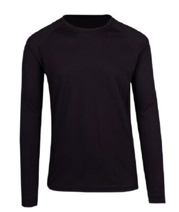 Lightweight L/Sleeve Tee With Your Team Logo -10 Colours