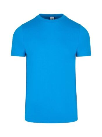 Men's Slim Fit Cotton Tee With Your Team Logo – 17 Colours